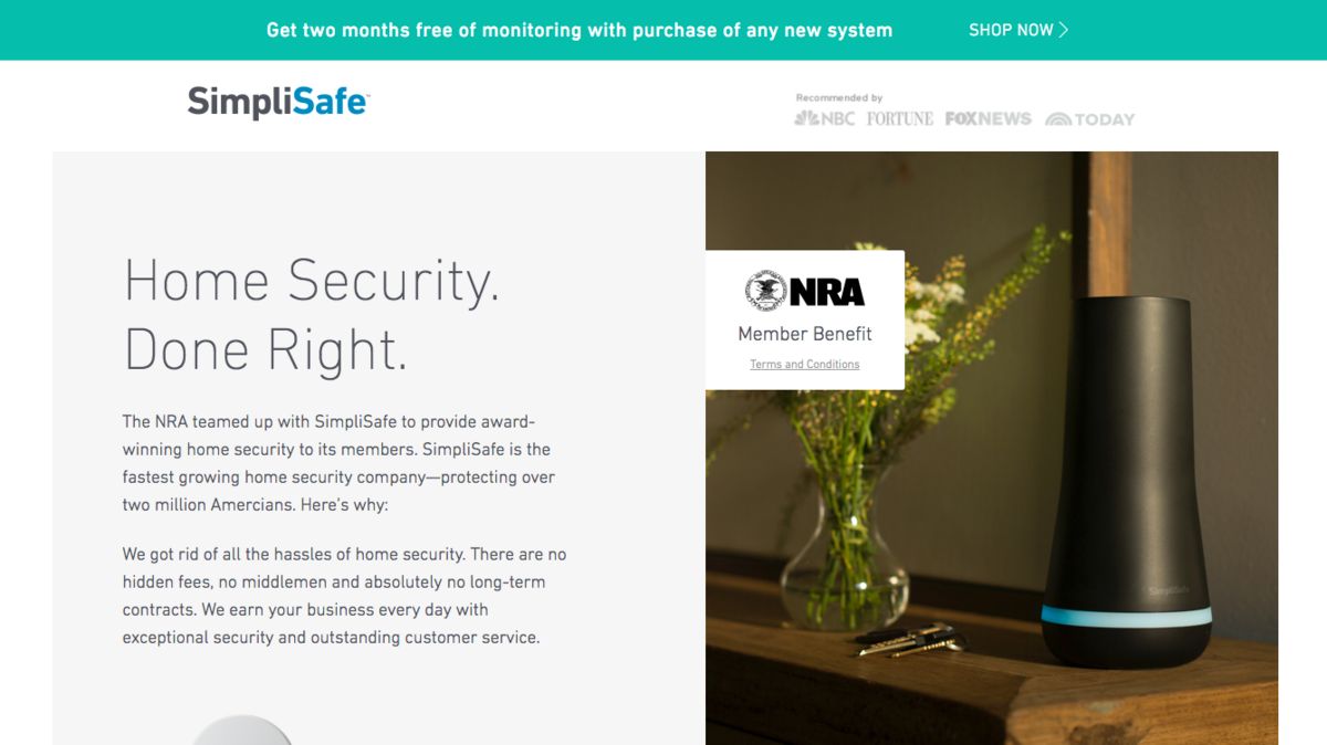 Under pressure, Boston-based SimpliSafe cuts ties with NRA - Boston