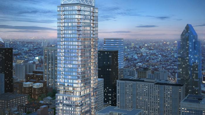 Residential tower at 1911 Walnut gets an official name