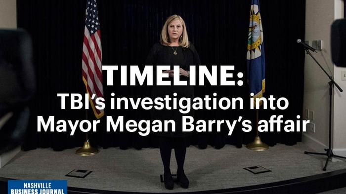 Timeline: Inside the TBI's investigation of Mayor Megan Barry's affair