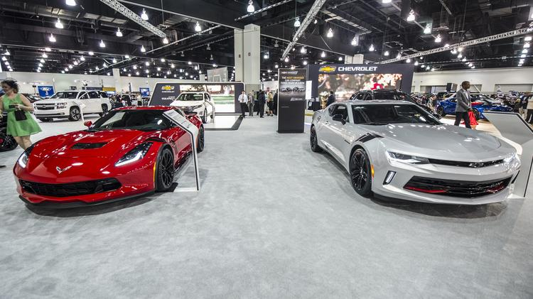 First Look At Milwaukee Auto Show And Its Kentucky Derbythemed - Car show kentucky