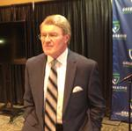 ACC Commissioner <strong>John</strong> <strong>Swofford</strong> talks future tournament prospects for Greensboro