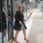 Countdown is on as officials cut ribbon ahead of light-rail extension opening (PHOTOS)