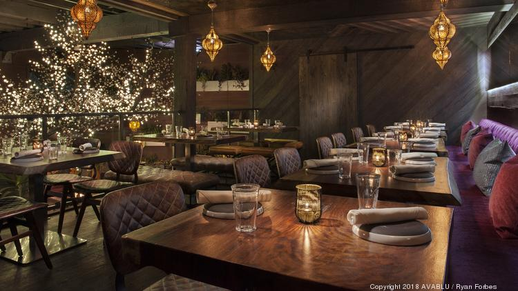 Exclusive High End Hollywood Mexican Restaurant Toca