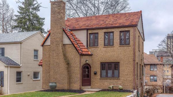 Blond Brick Bungalow with Historical Charm