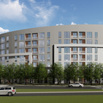 This busy Alexandria intersection will flip from aging suburban office to residential. Here's our best look yet at the plans.