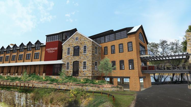 Renderings For The Riverhouse At Odette S In New Hope Pa Slated To Open