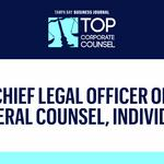 Meet the 2018 Top Corporate Counsel finalists for chief legal officer or general counsel