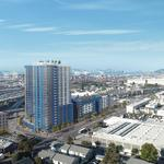 West Oakland proposal with 1,038 apartments and no parking sparks backlash