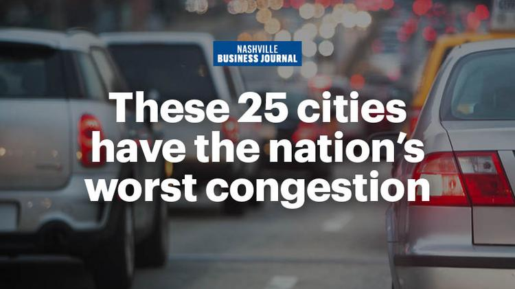 Nashville's congestion: Not the worst, but still bad