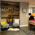 This company's fun office space includes smart meeting rooms, an Xbox and a hidden breakroom