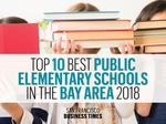 These are the top 10 best public elementary schools in the Bay Area for 2018 — and not one of them is in San Francisco