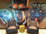 This Tex-Mex chain's outrageous office space features taco pillows, massive murals and a glass-enclosed test kitchen