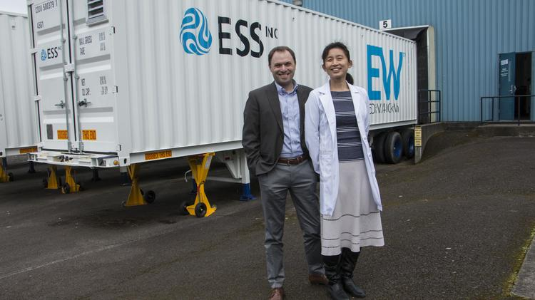 With $13M in hand, flow battery maker ESS powers up to