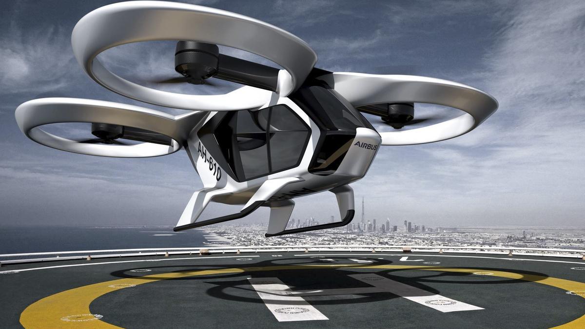 Single Passenger Drone / Dav panorama er sucht sie