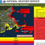 Coastal flooding expected to surpass January storm, Baker says
