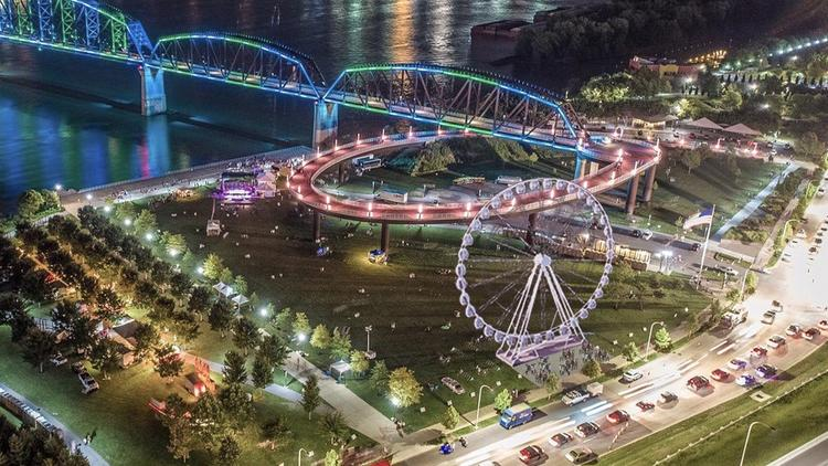 Banks Getting A Giant Ferris Wheel Cincinnati Business Courier