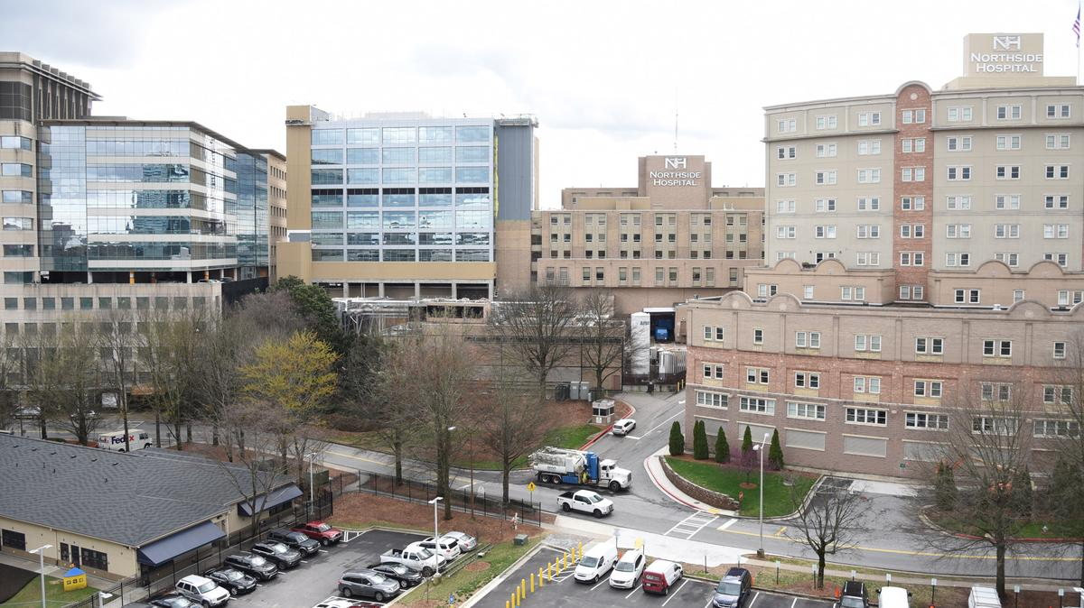 Northside Hospital finishing work on Pill Hill, Midtown towers ...
