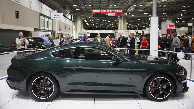 Mustang Bullitt Stars At KC Auto Show Kansas City Business Journal - Car show kansas city