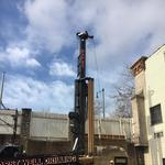 Why did this OTR distillery drill a giant hole in its parking lot?