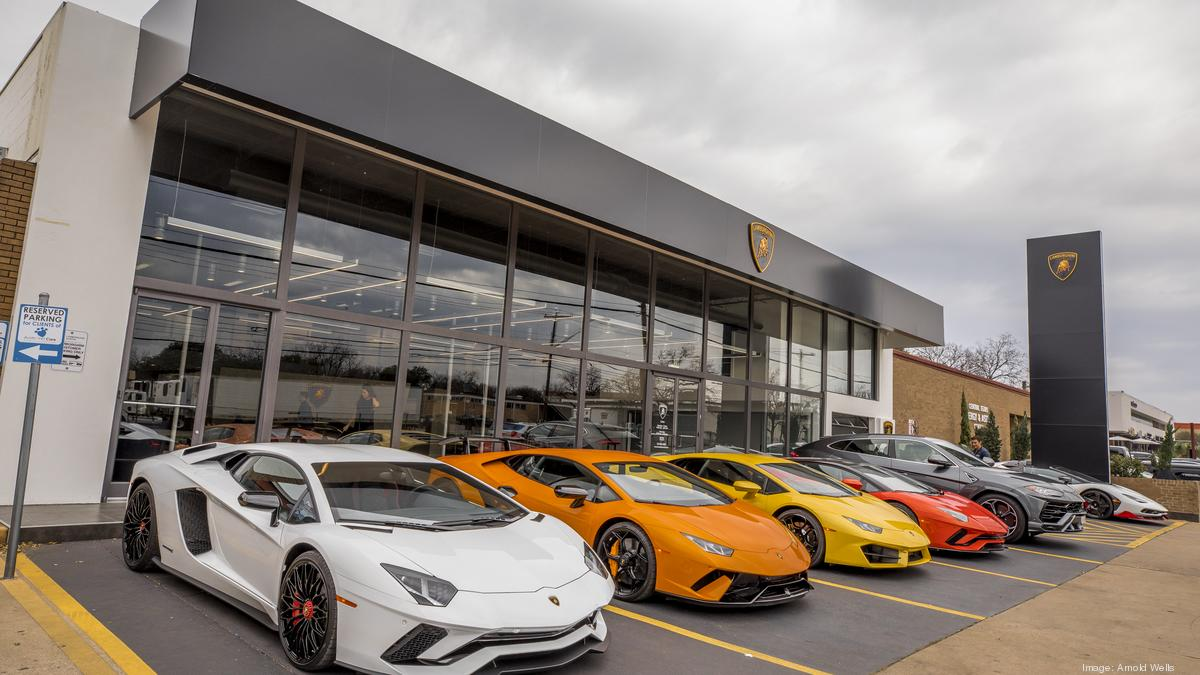 Photos Lamborghini Opens First Austin Dealership Luxury