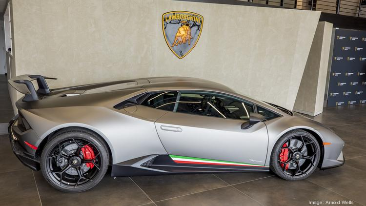 Photos Lamborghini Opens First Austin Dealership Luxury Cars Line