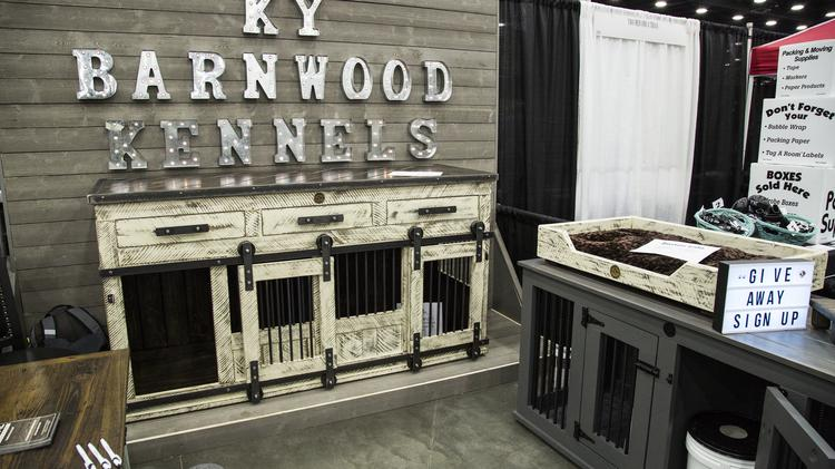 1. CUSTOM KENNELS. Cages Can Be Unsightly. But These Kennels, Made Of