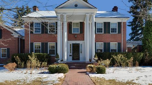 Stately Colonial Revival