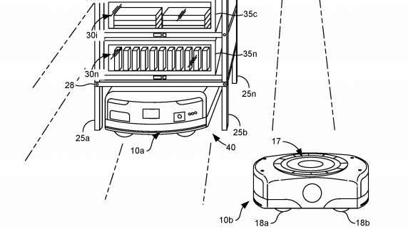 Amazon files for patent on robotic refrigerators for faster grocery