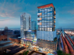 A new look for the North Station office tower being built by Boston Properties