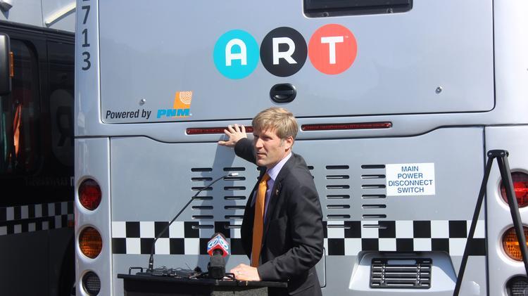 Mayor Tim Keller Dubs Albuquerque Rapid Transit Project