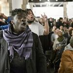 Protest cuts Temple University stadium town hall short