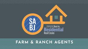 SABJ presents the top Farm & Ranch Agents for the 2018 Residential Real Estate Awards