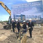 <strong>Patel</strong> family, Nova Southeastern break ground on new med school in Clearwater