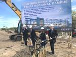 Patel family, Nova Southeastern break ground on new med school in Clearwater
