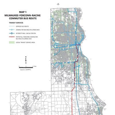 Milwaukee transit committee backs new commuter route to Foxconn