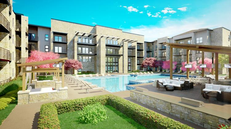 300 more apartments rising in South Austin via Oden Hughes