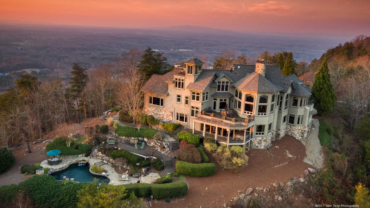 95M Listing In This Secluded Home Atop Sawnee Mountain Its All About The View Photos