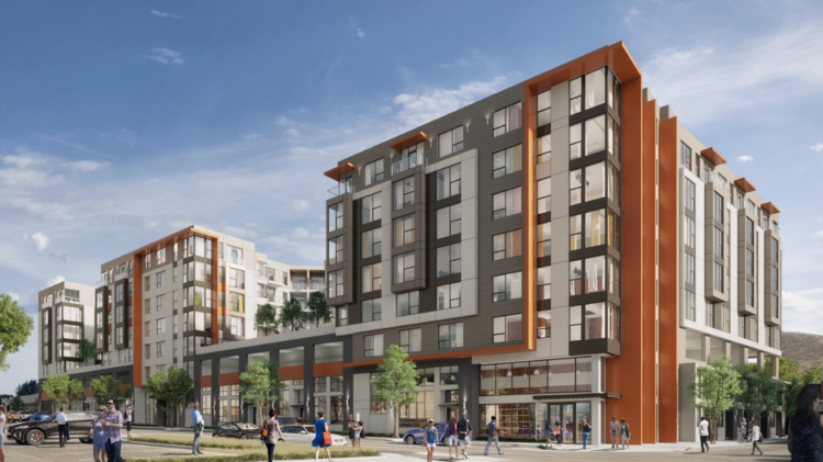 Bde Architects Designed The 195 Unit Phase Of Cadence Apartments At 405 Cypress Ave