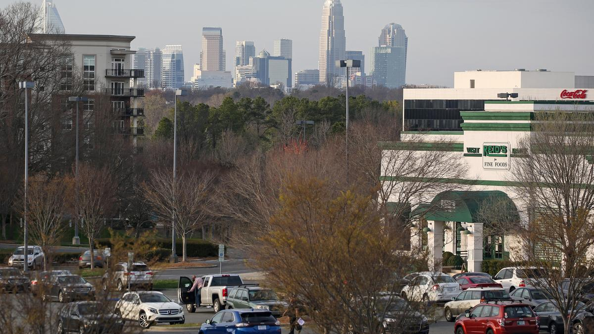 Evolution of SouthPark in Charlotte continues with new construction