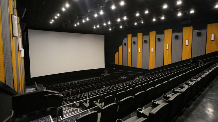 Inside stone theatres new 14 screen luxury cinema at mpv properties redstone 14 movie theater is putting the finishing touches on its 55400 square foot thecheapjerseys Images