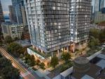 Seattle firms secure $245M construction loan for unique 'leaning towers' project on First Hill (Images)