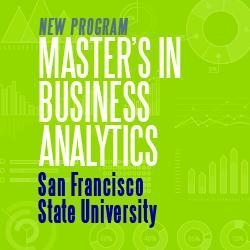 San Francisco State University - MS Business Analytics Webinar Session