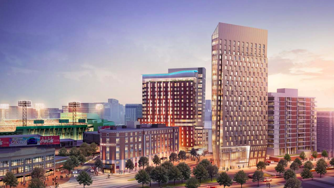 Crossroads At Kenmore Would Bring 677 Hotel Rooms To Boston S Square Business Journal