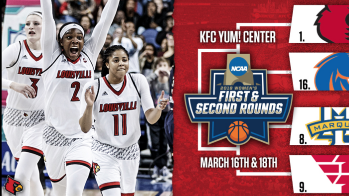 How far do you think the U of L women's team will advance in the NCAA tournament?