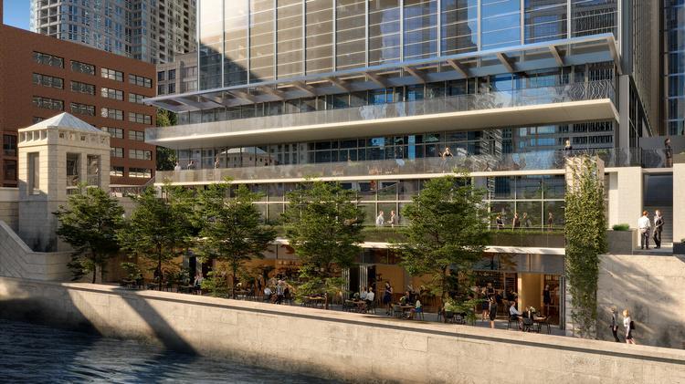 Lettuce Entertain You Enterprises Building Eateries On Chicago River