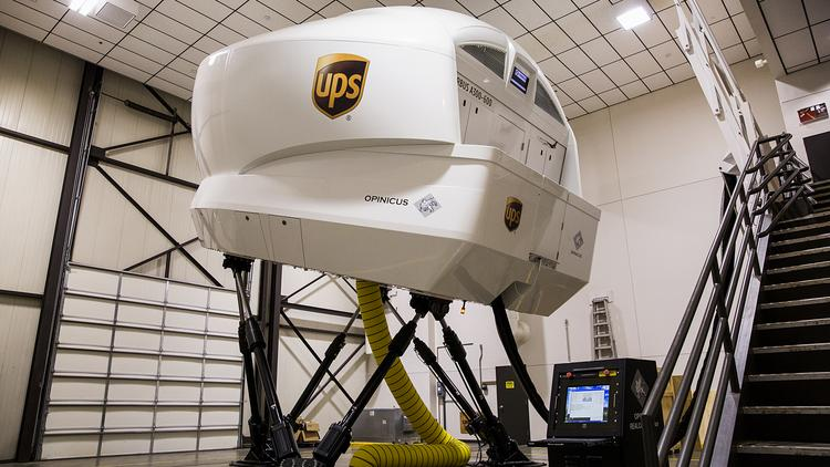 UPS's flight simulator is the coolest video game I've ever