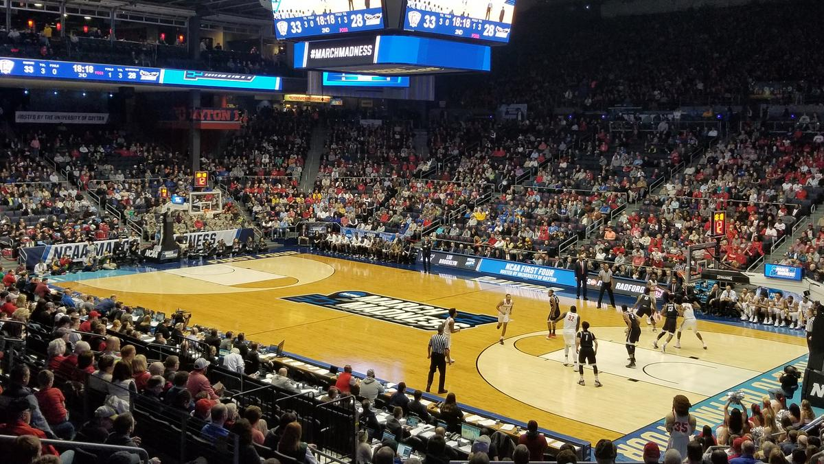 Night Two Of Ncaa First Four Sets Attendance Record In