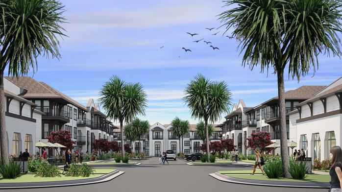 TriBridge luxury apartment development could spark major changes in Neptune Beach