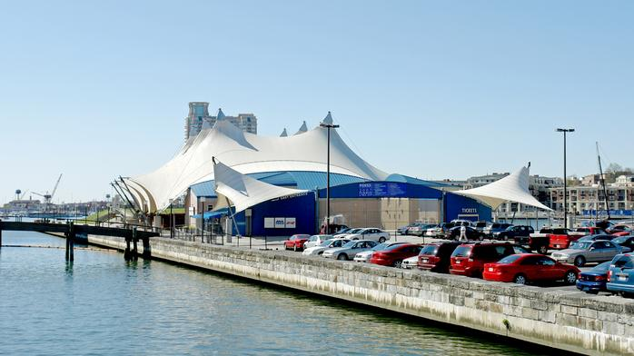 Pier Six Pavilion getting new tent, seats as part of multimillion-dollar renovation
