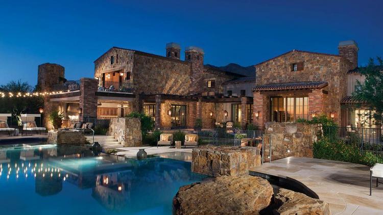 this 17 5m scottsdale mansion broke the arizona record for priciest rh bizjournals com jobs from home arizona home arizona mills